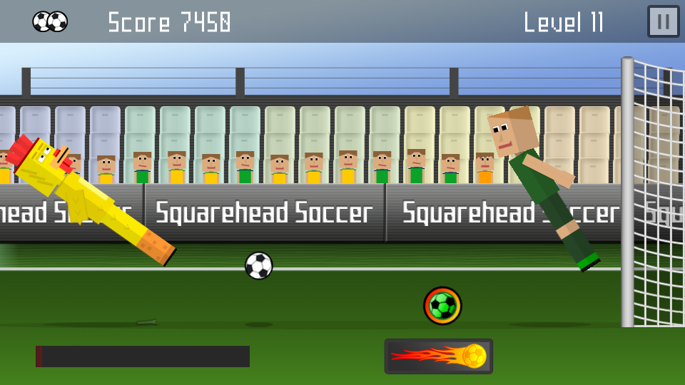Squarehead Soccer Chicken Action