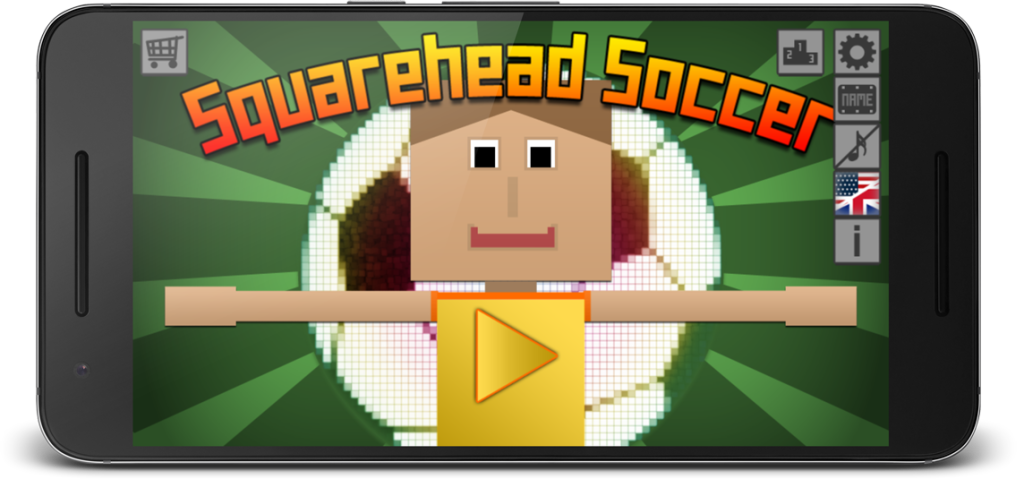 Squarehead Soccer Title Device